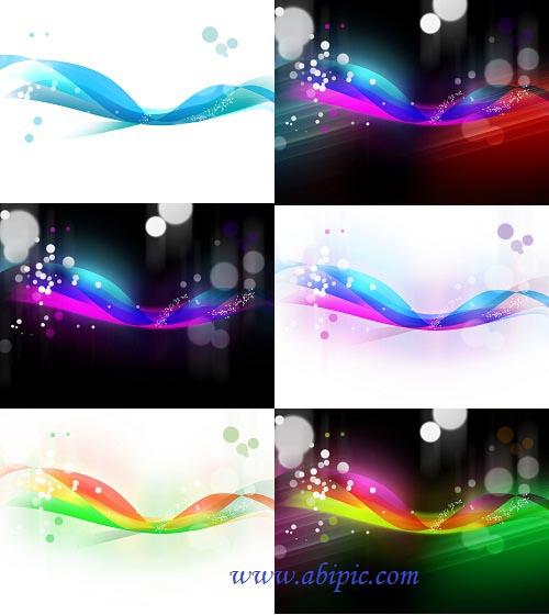 دانلود مجموعه پس زمینه های لایه باز آبسترکت Abstract Veil Background
