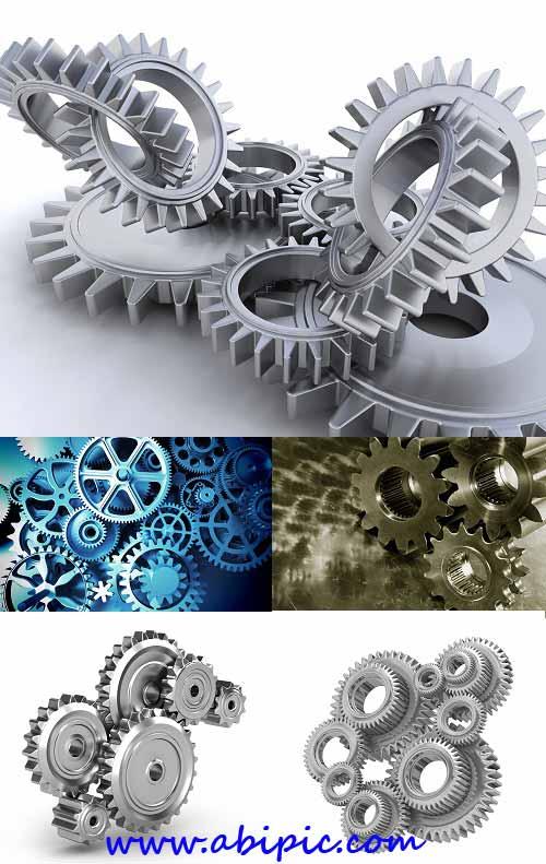 دانلود تصاویر شاتر استوک چرخدنده Gears and mechanisms Stock Photo