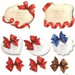 دانلود مجموعه وکتور فریم و روبان Vector frames bows and ribbons