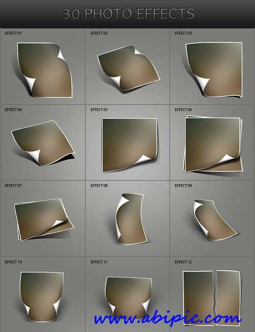 دانلود 30 افکت زیبا برای عکس Photo Effects