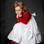 دانلود فون مونتاژ عکس دختر شماره 5 Child`s template for photo montage