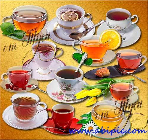 دانلود تصاویر کلیپ آرت لایه انواع فنجان چای Clip Art This favorite tasty tea