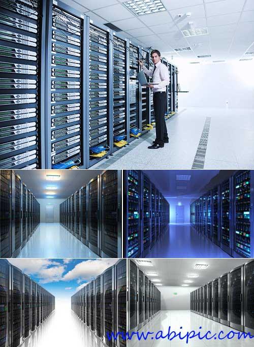 دانلود تصاویر شاتر استوک دیتا سنتر Datacenter Stock Photo