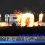 دانلود پروژه افترافکت نمایش زیبای لوگو Fire Reveal After Effects Project