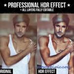 دانلود اکشن ساخت تصاویر HDR سری سوم Professional HDR Effect