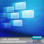 دانلود بک گراند لایه باز با طرح ایمیل Email Background PSD