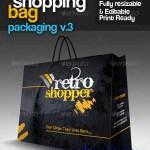 دانلود طرح وکتور کیف و ساک خرید GraphicRiver Shopping Bag Packaging