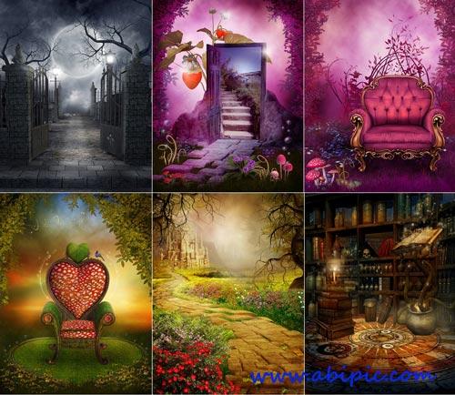 دانلود 6 عکس استوک فانتزی و جادویی سری 1 Magic Illustrations Stock photo