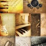 دانلود تصاویر استوک پس زمینه موسیقی Musical Backgrounds StockPhoto