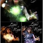 دانلود طرح لایه باز از نورهای جادویی و جادوگری PSD Light and Magic Collection
