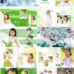 دانلود فون آتلیه کودک آلبوم شماره 1 PSD PhotoTemplates