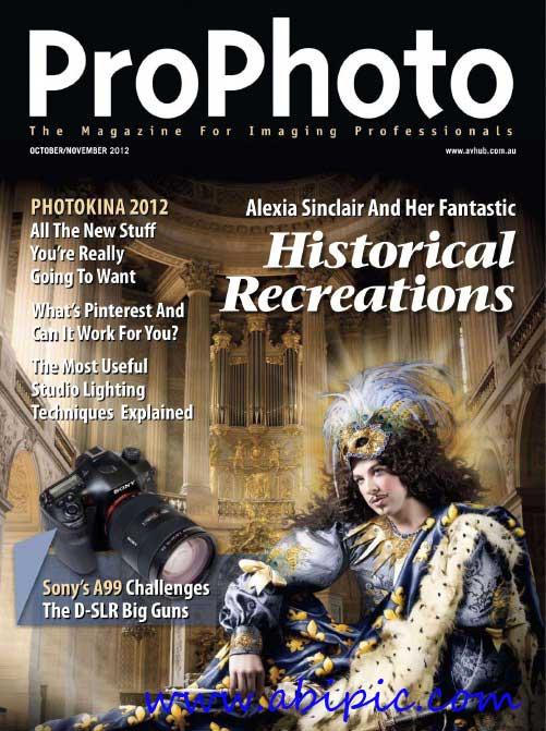دانلود مجله عکاسی Pro Photo شماره October & November 2012
