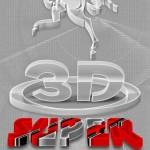دانلود اکشن 3 بعدی سازی با طرح شفاف فتوشاپ Super 3D Transparent