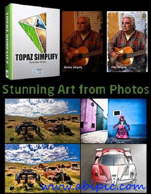 دانلود پلاگین ساخت تصاویر هنری Topaz Simplify 4.0.1 Plugin for Adobe Photoshop