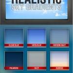 دانلود 15 گرادینت واقعی آسمان برای فتوشاپ شماره 2  Realistic Sky Gradients