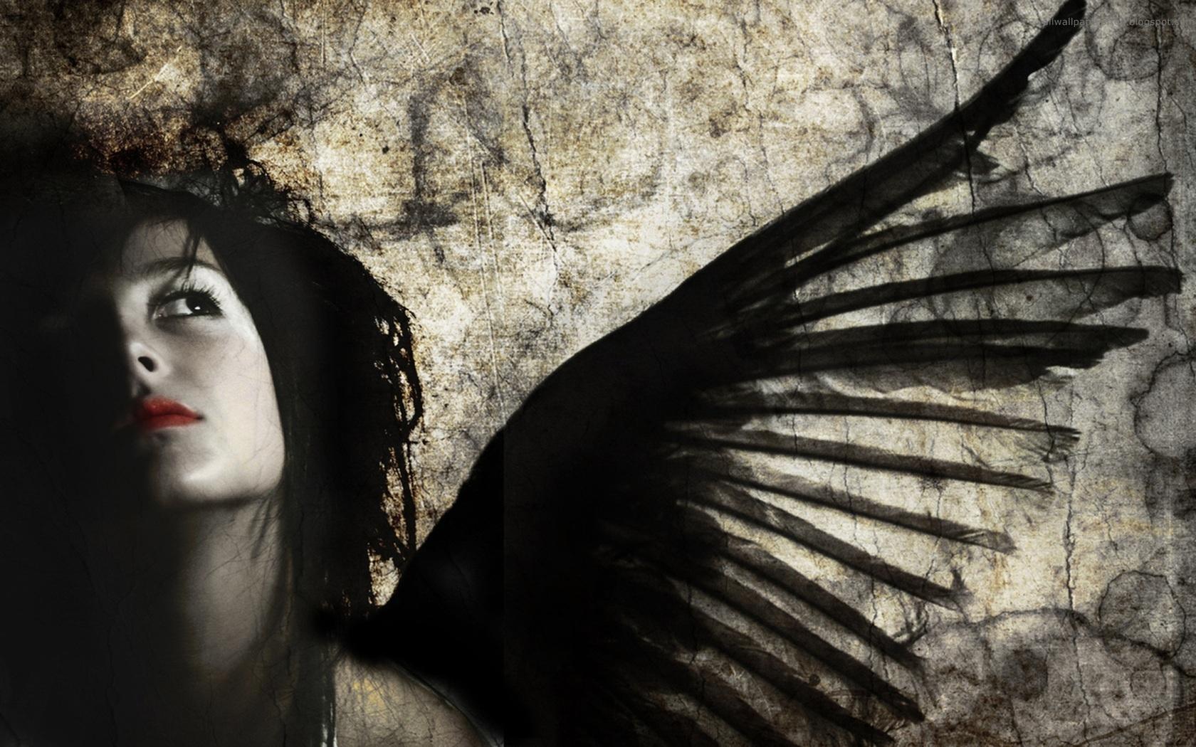 dark horror gothic angel - photo #6