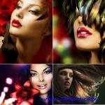 دانلود تصاویر استوک با موضوع آرایش و زیبایی Woman Makeup Stock Photo