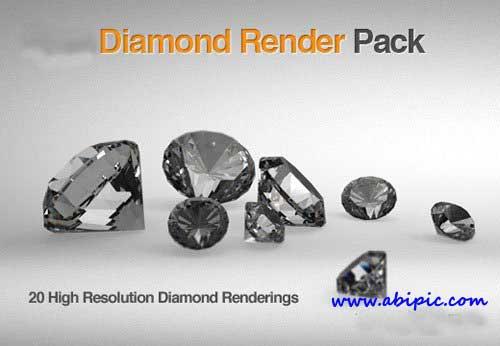 دانلود 20 عکس با کیفیت بالا از الماس 20 Highres Diamond Images