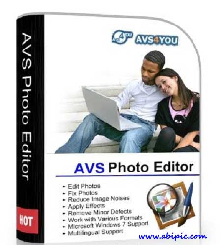 دانلود نرم افزار ویرایش عکس AVS Photo Editor 2.0.7.126