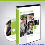 دانلود طرح لایه باز کاور و لیبل DvD عروسی شماره 6 Wedding DVD Covers