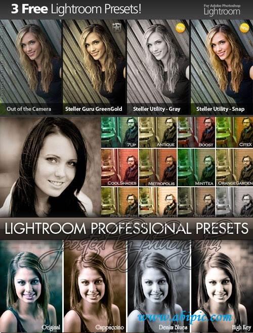 دانلود 2000 پیش تنظیمات حرفه ای برای لایتروم Lightroom Professional Preset