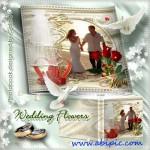 دانلود فون لایه باز PSD آلبوم عکس عروس و داماد شماره 9