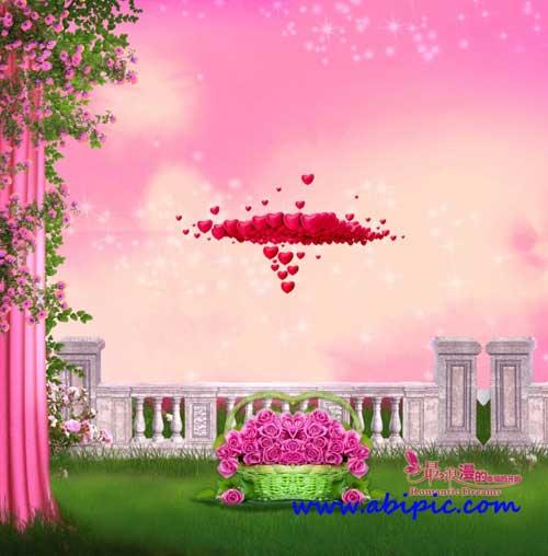 دانلود طرح لایه باز عاشقانه شماره 3 Source - Romantic Background