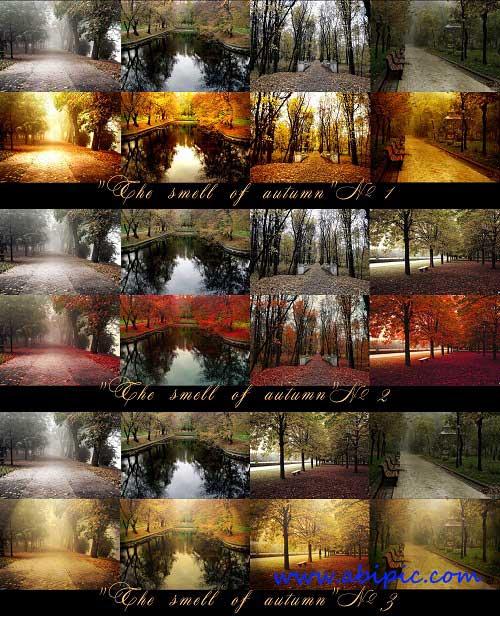 دانلود 3 اکشن زیبای فصل پاییز The Smell of Autumn Actions