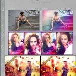 دانلود اکشن رنگهای درخشان جادوی برای فتوشاپ Fairy Glow Photoshop Actions