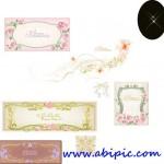 دانلود وکتور فریم و کادر و حاشیه رمانتیک Romantic floral vector borders,frames