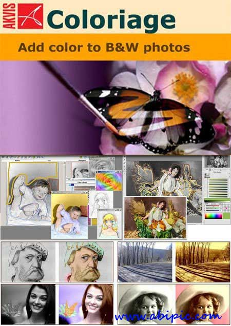 دانلود نرم افزار رنگی کردن عکس های سیاه و سفید AKVIS Coloriage 9.0.1044.9177