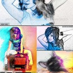 دانلود 23 اکشن هنری فتوشاپ سری 3 Artist Photoshop Actions