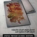 دانلود طرح لایه باز کارت ویزیت هنری Artistic Photograph Business Card
