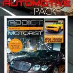 دانلود 3 طرح ایندیزاین مجله ماشین GraphicRiver 68 Pages Automotive Magazine