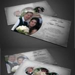 دانلود طرح لایه باز کارت دعوت عروسی Wedding Invitation Card PSD