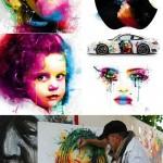 دانلود نقاشی های اکریلیک اثر Acrylic painting Patrice Murciano