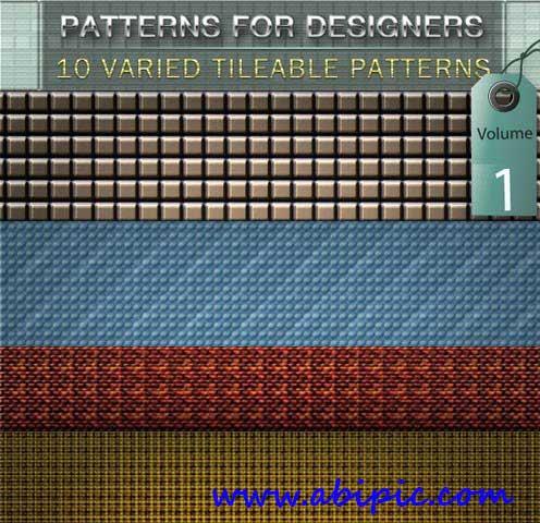 دانلود 10 الگوی متنوع فتوشاپ Varied Tileable Photoshop Patterns