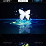دانلود طرح لایه باز موک آپ ساخت لوگو 3 بعدی Photo Realistic 3D Logo Mock-up