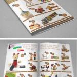دانلود طرح ایندیزاین کاتالوگ عروسک و اسباب بازی فروشی