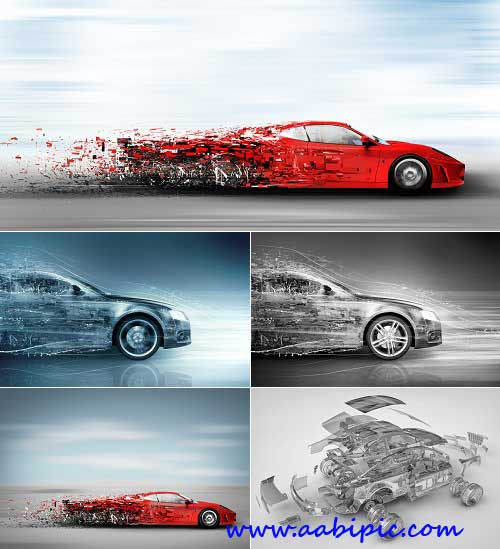 دانلود تصاوی استوک مفهومی از اتومبیل Stock Photo Car abstract concept