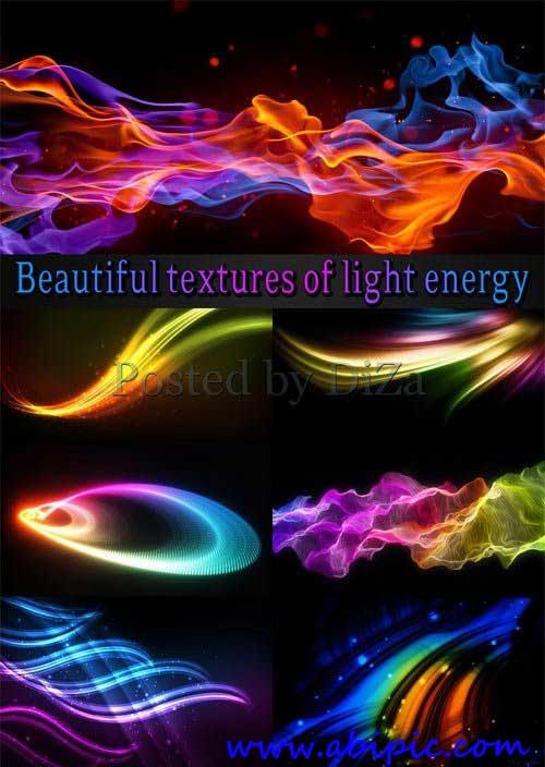دانلود تصاویر استوک از تکسچرهای نور و انرژی Beautiful textures of light energy