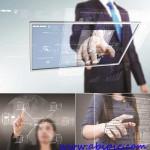 دانلود عکس استوک تکنولوژهای مدرن و مجازی Business virtual technology