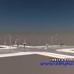 دانلود مدل 3 بعدی خیابان شهر سینما 4 بعدی Cinema 4D city street 3D models