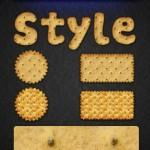 دانلود استایل فتوشاپ بیسکویت Cracker Photoshop Styles