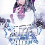 دانلود طرح لایه باز پوستر تبلیغاتی زمستانه Frozen Party Flyer Template