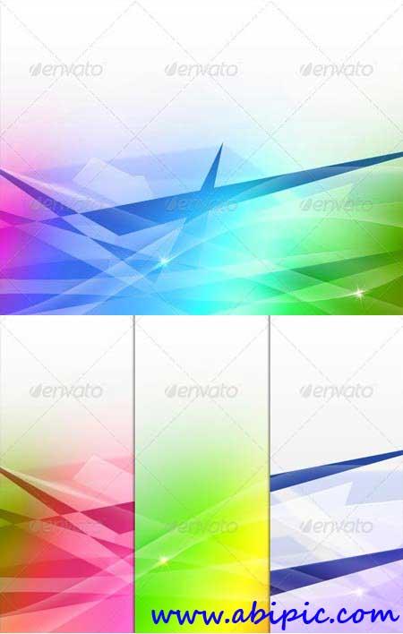 دانلود طرح Mock-up ساخت بک گراند های انتزائی White Abstract Background