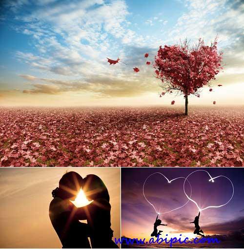 دانلود عکس شاتر استوک با مفهوم عاشقانه سری 1 Stock Photo - Love Concept