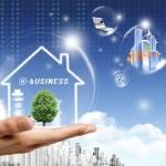 دانلود سورس فتوشاپ با نام تجارت الکترونیک Electronic Business PSD Source