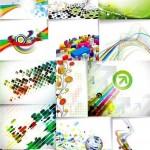دانلود وکتور بک گراند سری 52 Backgrounds Vector Set