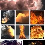 پلاگین ساخت دود و آتش سینما 4 بعدی Turbulence FD 0.4 Plugin Cinema 4D